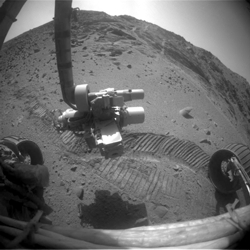 Sol 4079 forward HazCam