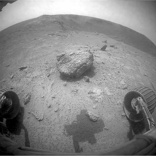 Front Hazcam-Blick an Sol 2520