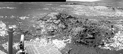 Sol 3098 neues Operationsgebiet