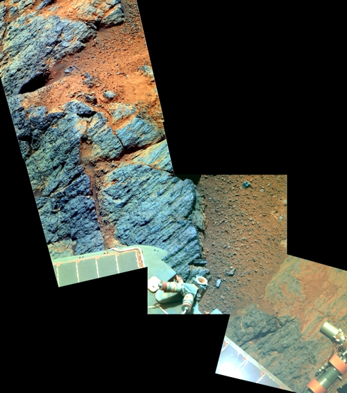 Copper Cliff in Farbe an Sol 3171