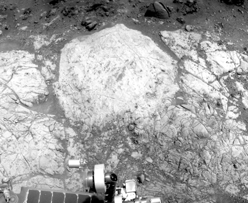 Whitewater Lake an Sol 3185