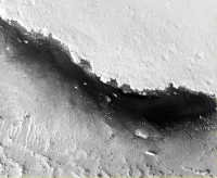 Höhle in Marte Vallis